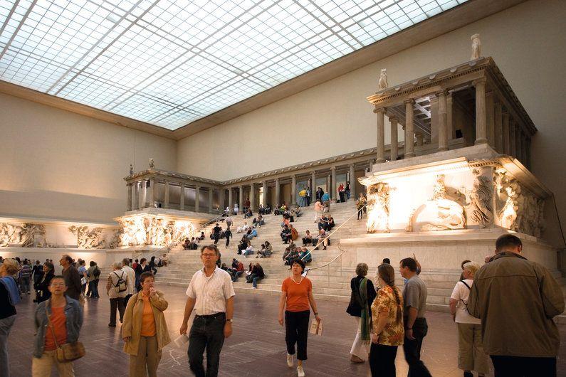 Inside The Pergamon Museum Berlin German Pergamon Museum Pergamon Pergamon Museum Berlin