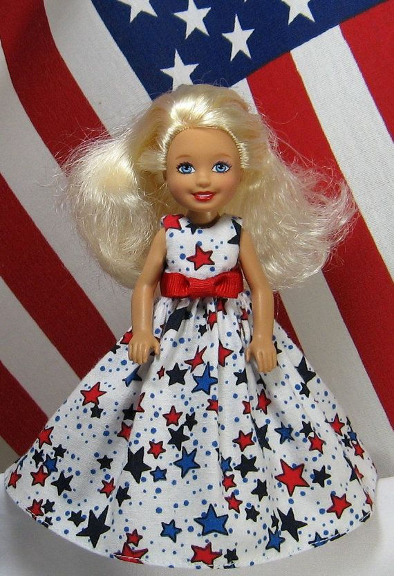 Chelsea Doll Clothes Patriotic Red White Amp Blue Star