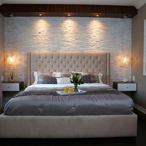 Stone Master Bedroom Modern Bedroom Toronto Paul Lafrance Design Redecorate Bedroom Master Bedrooms Decor Master Bedroom Design