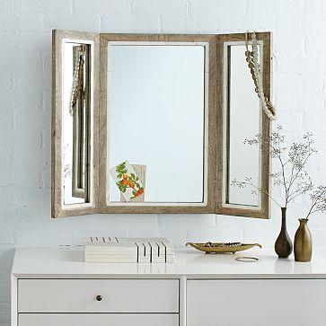 trifold mirror | closet vanity, vanities and tri fold mirror