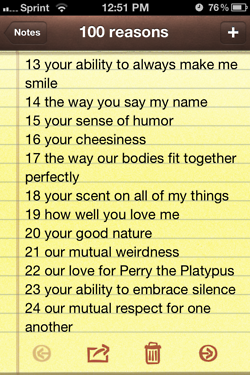 100 Reasons Why I Love You Tumblr Meet Reasons Why I Love You
