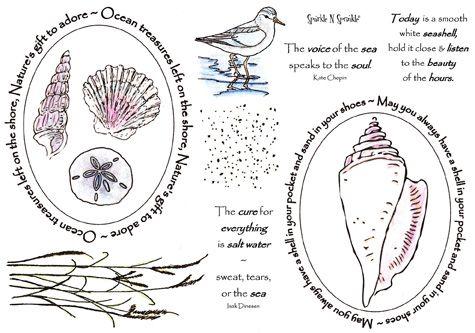 Stamp Set 404 - Ocean Treasures