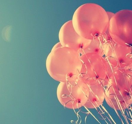 I want to let balloons go (instead of throwing rice) at my wedding because my mom did