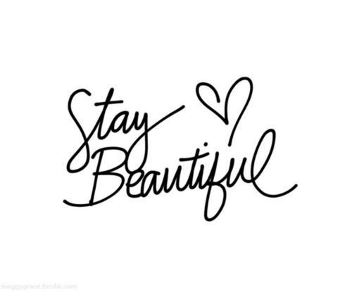 love art girl cute quote Black and White tumblr quotes beautiful ...