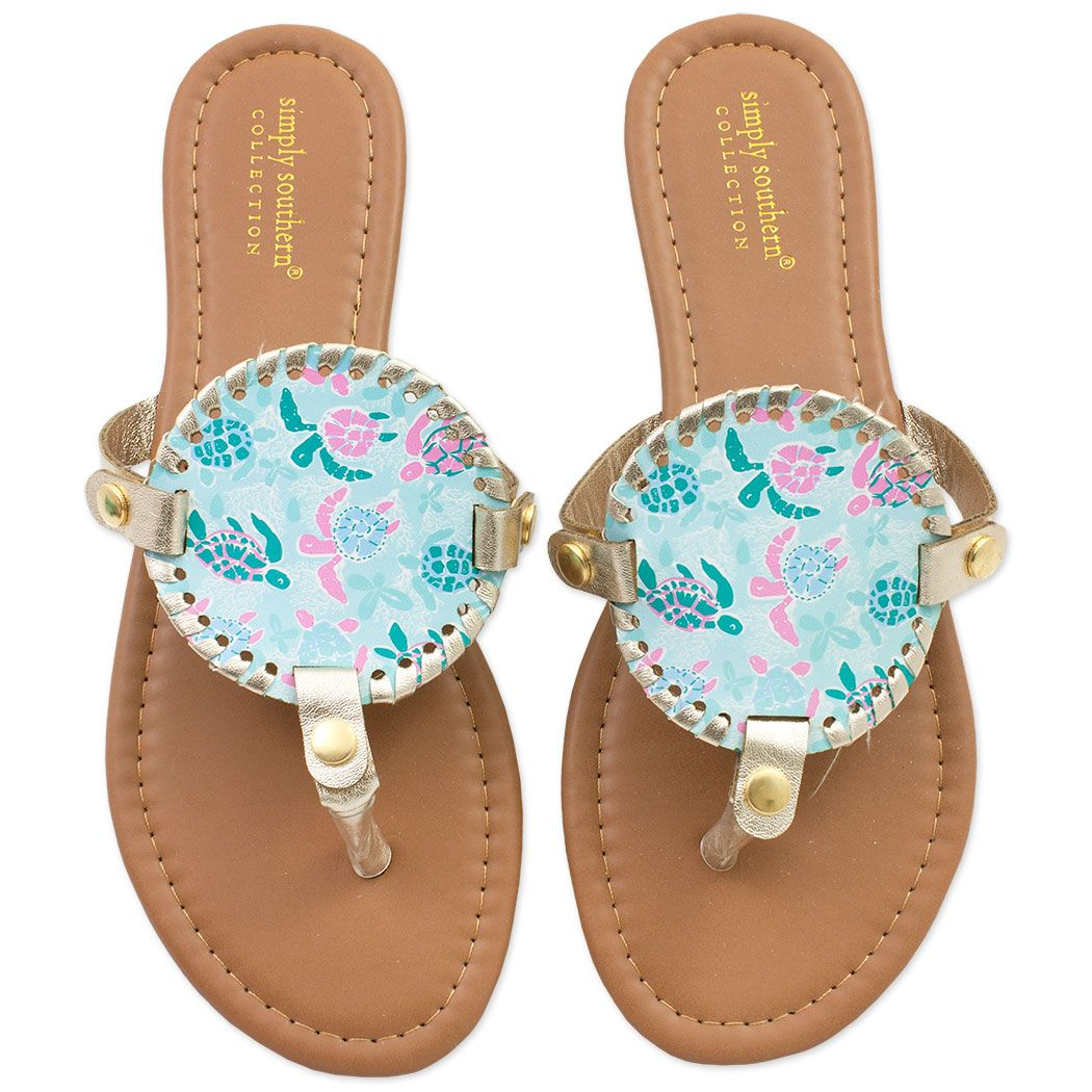 7cf38cefba18 Simply Southern Turtle Friends Sandals  simplysouthern  southern  sandals   turtle  turtles