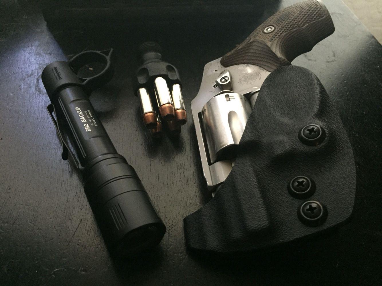 Smith & Wesson J frame IWB minimalist kydex holster | RedHawk