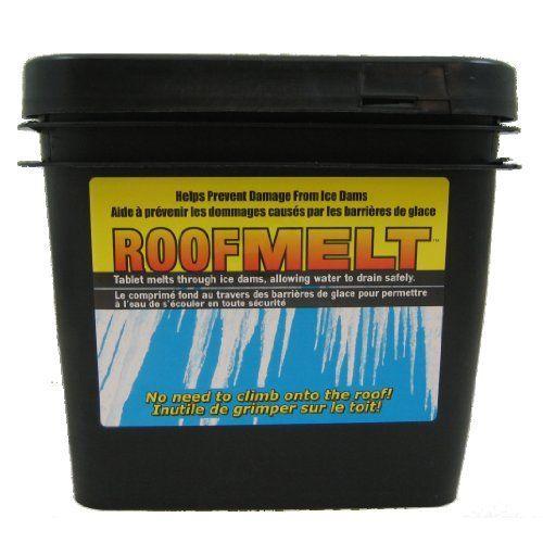 Roof Melt 60 Tablets Ice Dams Ice Snow Ice