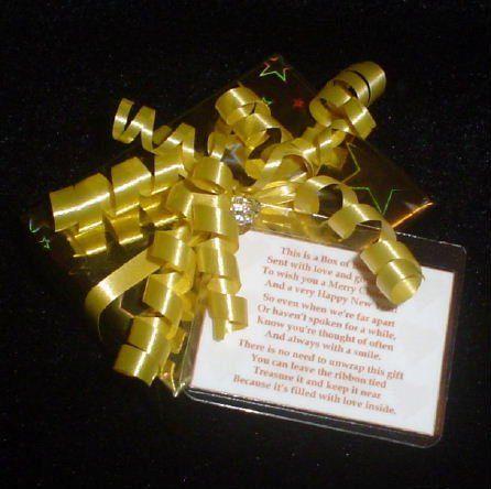 A Box of Eternal Love in Memory of my Gran at Christmas.