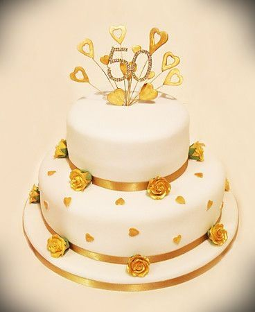 top tier wedding cake anniversary 2 tier 50th wedding anniversary cakes 187 cake design ideas 21073