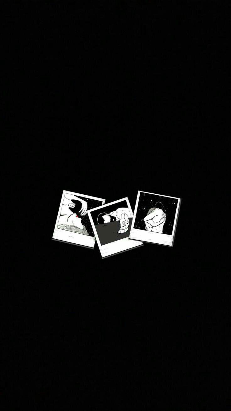 Pin By Bangtanies On Afondos Piorapata Hd Anime Wallpapers Black Aesthetic Wallpaper Black Background Wallpaper