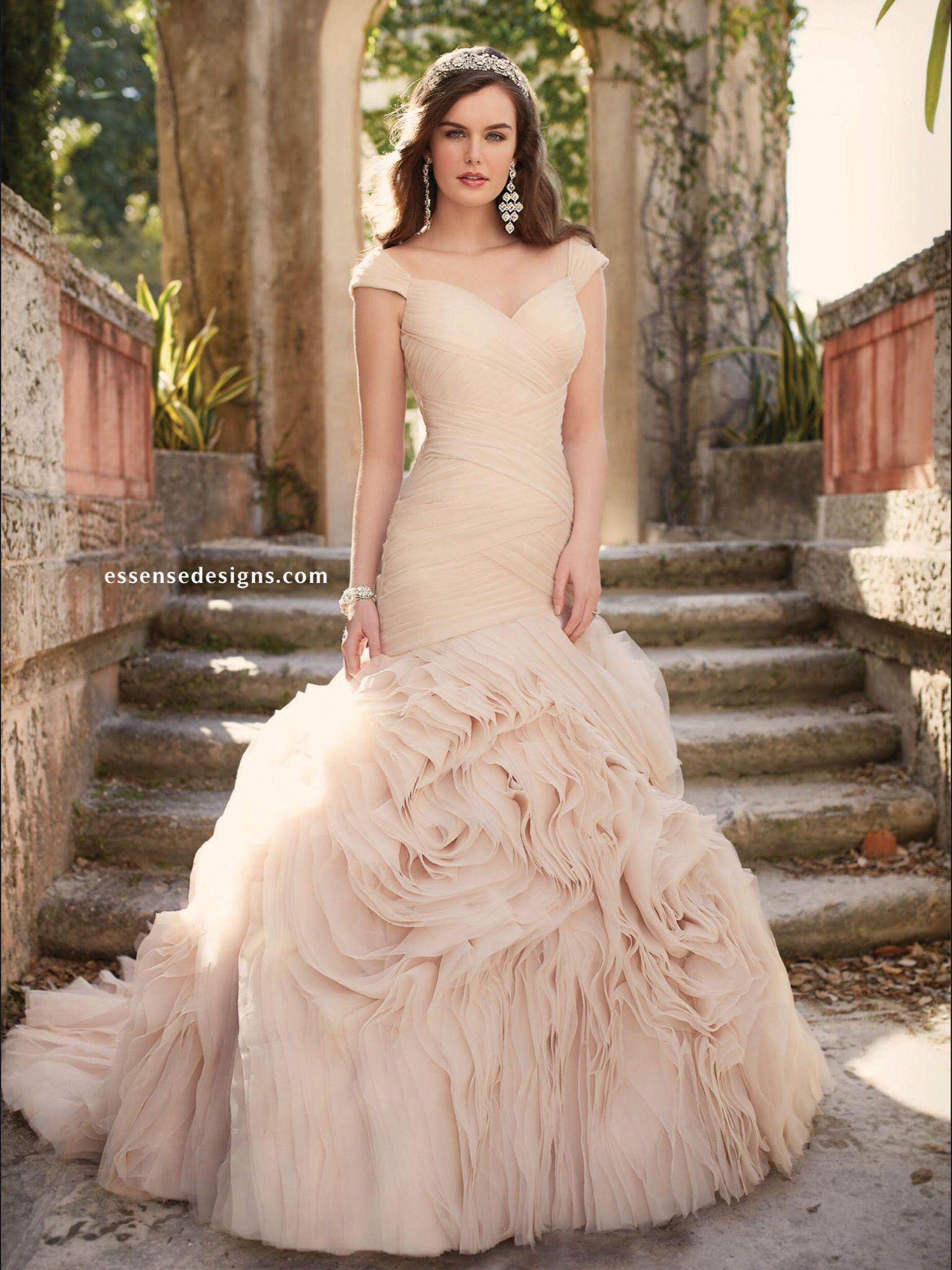 Essence Bridal | Colorful Wedding Dresses | Pinterest | Colorful ...