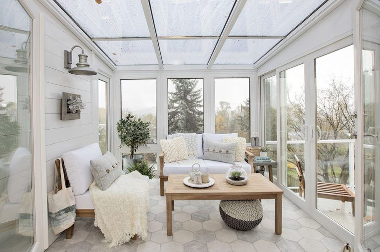 Love It Or List It Vancouver Aleksandra And Vincent Jillian Harris Sunroom Decorating Cottage Interiors Sunroom Designs