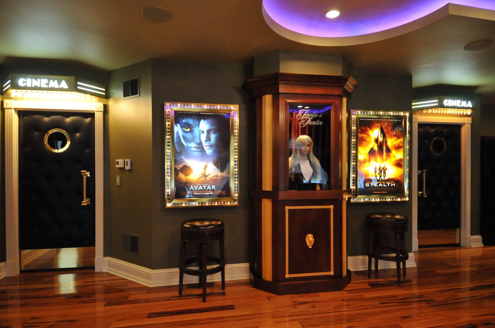Ticket Booth Usuma Pinterest Basements Movie Rooms