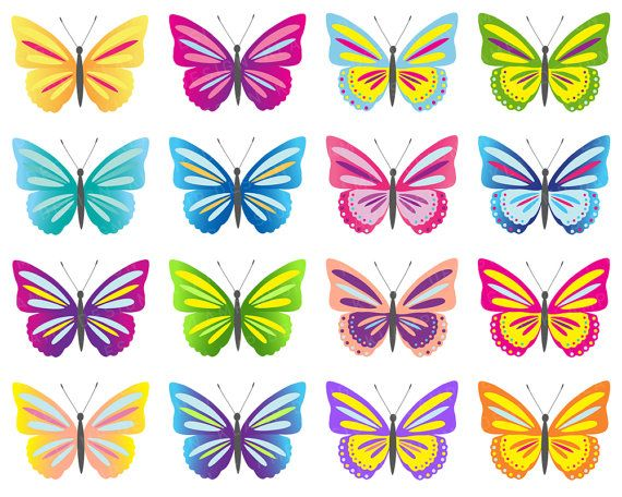 photograph regarding Printable Butterfly Pictures identify Butterfly Clip Artwork, Electronic Butterflies Clipart, Vibrant