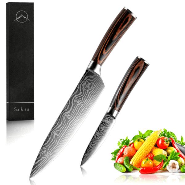 Nos Sets De Couteaux Saikiru En 2020 Couteau Cuisine De Qualite Cuisinier