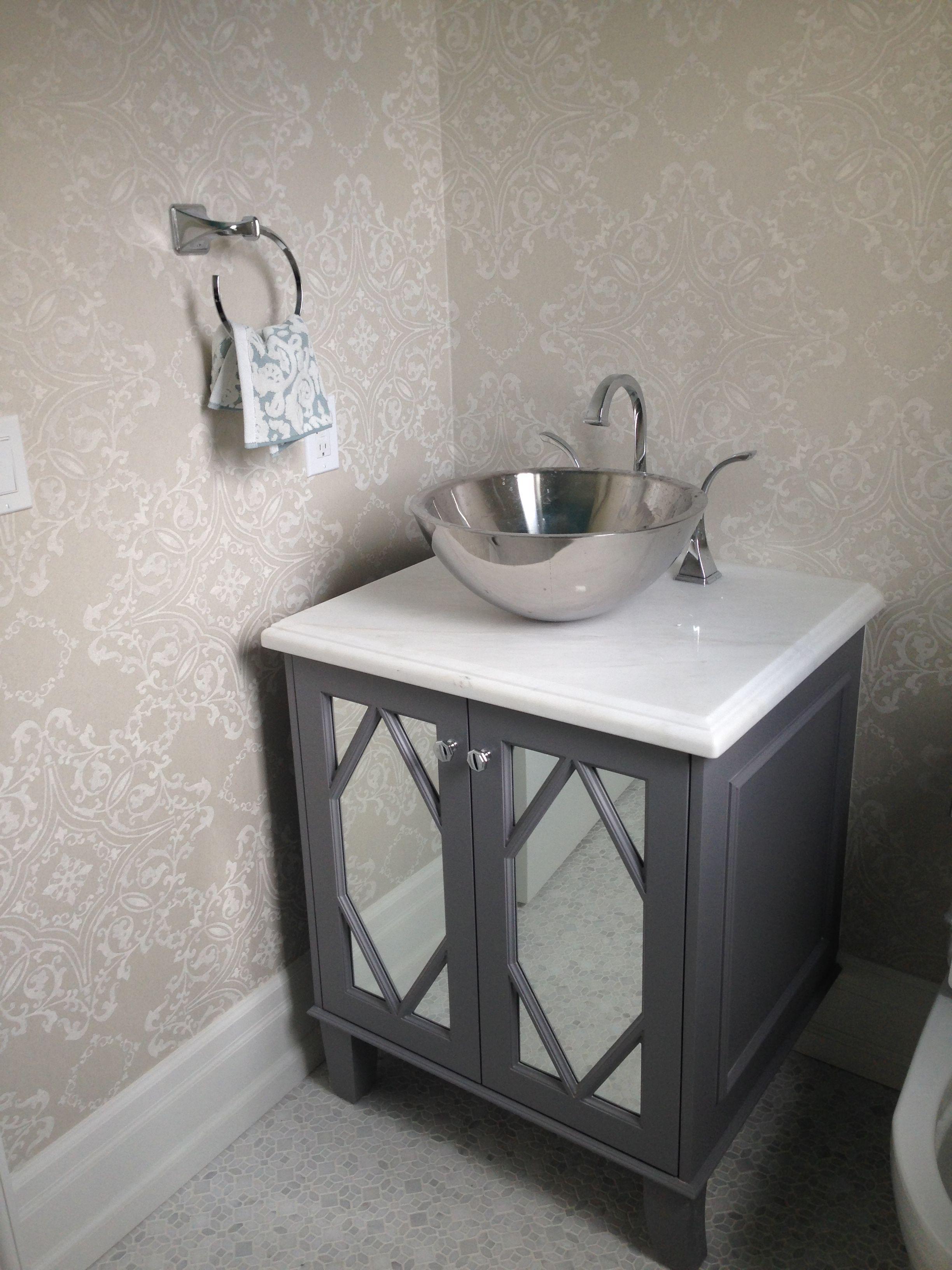 Kleinburg Model Home Powder Room Vanity