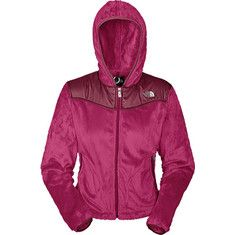 The North Face Oso Hoodie (women's) - Loganberry Red