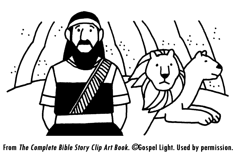 Daniel and the Lions - Bible lesson for children. | bible bits ...