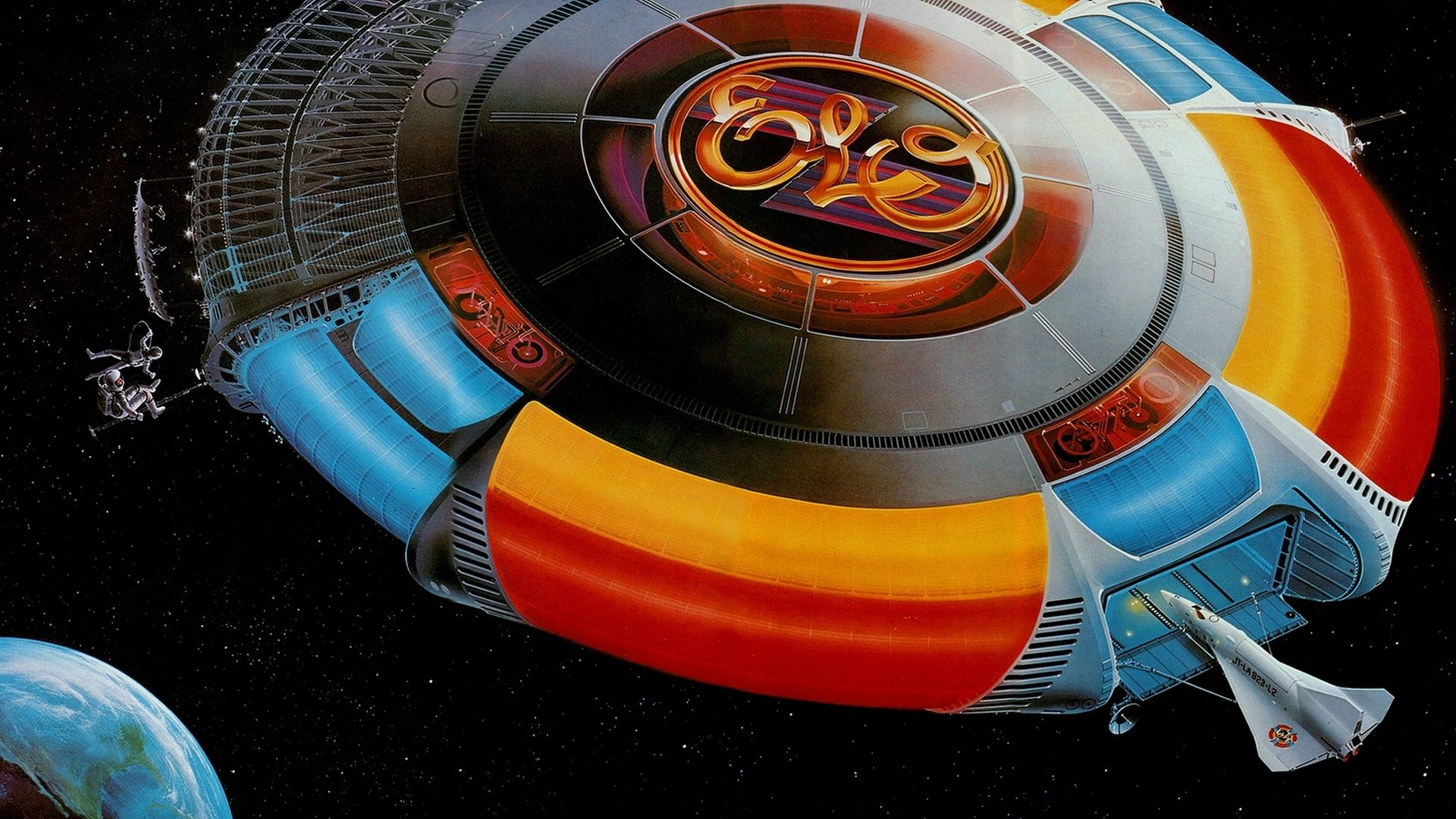 Electric Light Orchestra Album Cover Art Electric Lighter Famous Artists Paintings