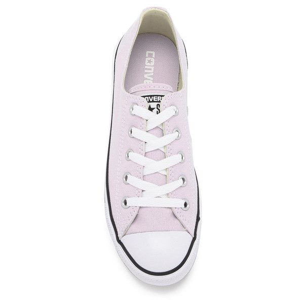 Converse Women S Chuck Taylor All Star Dainty Ox Trainers Purple