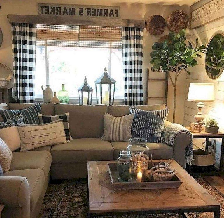 70+ COZY SHABBY CHIC LIVING ROOM DECOR IDEAS #livingroom # ...