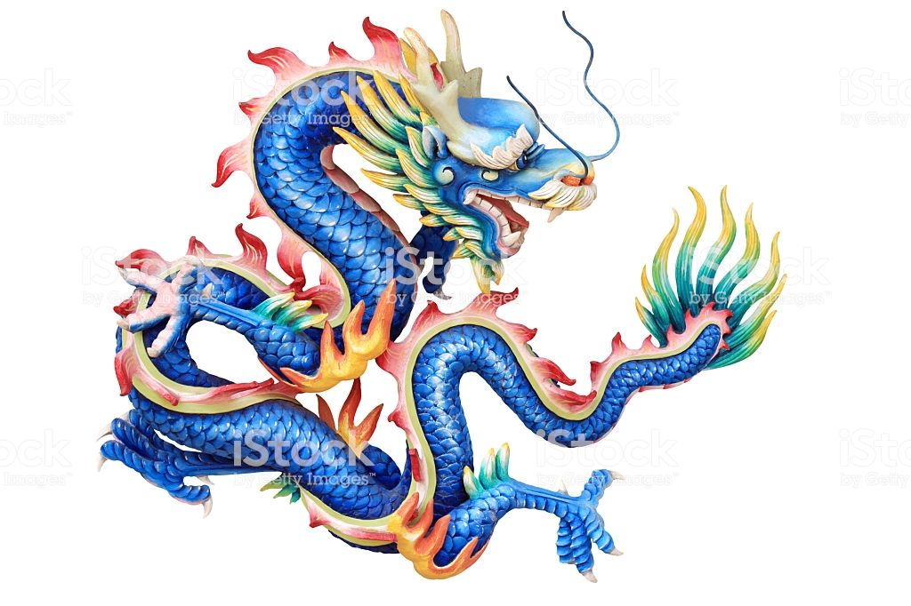Blue dragon on white backgrounds. in 2020 Blue dragon