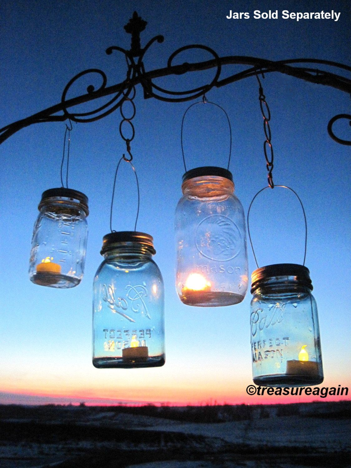 Mason jar lantern lid diy hanging candle lanterns outdoor lighting mason jar lantern lid diy hanging candle lanterns outdoor lighting as seen on fly away book luminary mason jar lids with handles only aloadofball Image collections