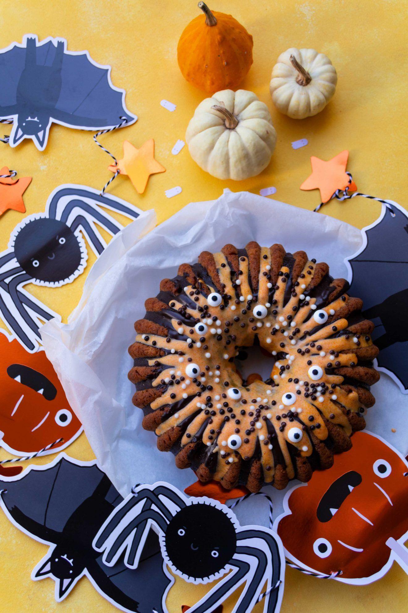 Halloween Kürbiskuchen Rezept Kürbiskuchen