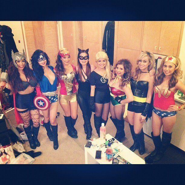 Ghouls Gone Wild! 60 Creative Girlfriend Group Costumes Girl group - halloween costume girl ideas