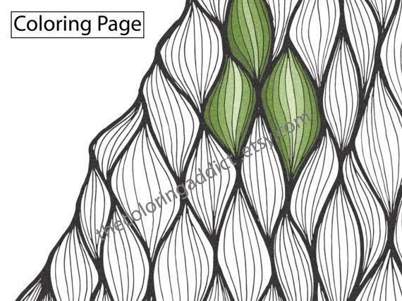 anic zentangle coloring sheet