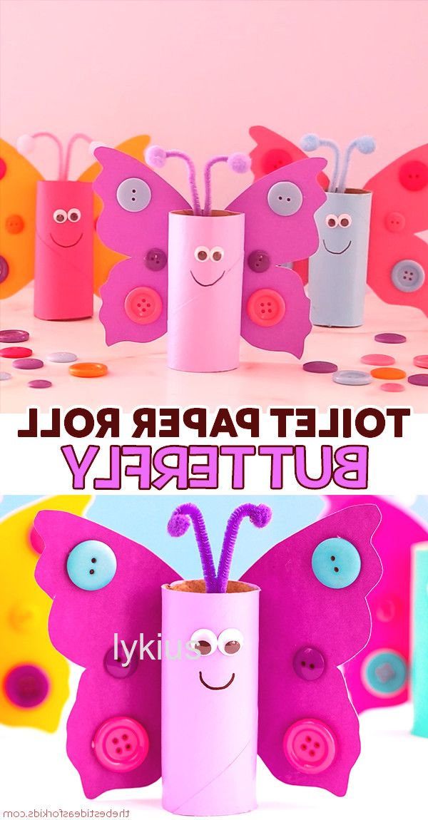 cute home decor home decor homedecor #homedecor TOILET PAPER ROLL BUTTERFLY - such a cute butterfly craft for kids! Kids will love making these out of toilet paper rolls or paper rolls as a recycled craft. Preschool and kindergarten classes can make these to learn about the butterfly lifecycle even! #toiletpaperrolldecor