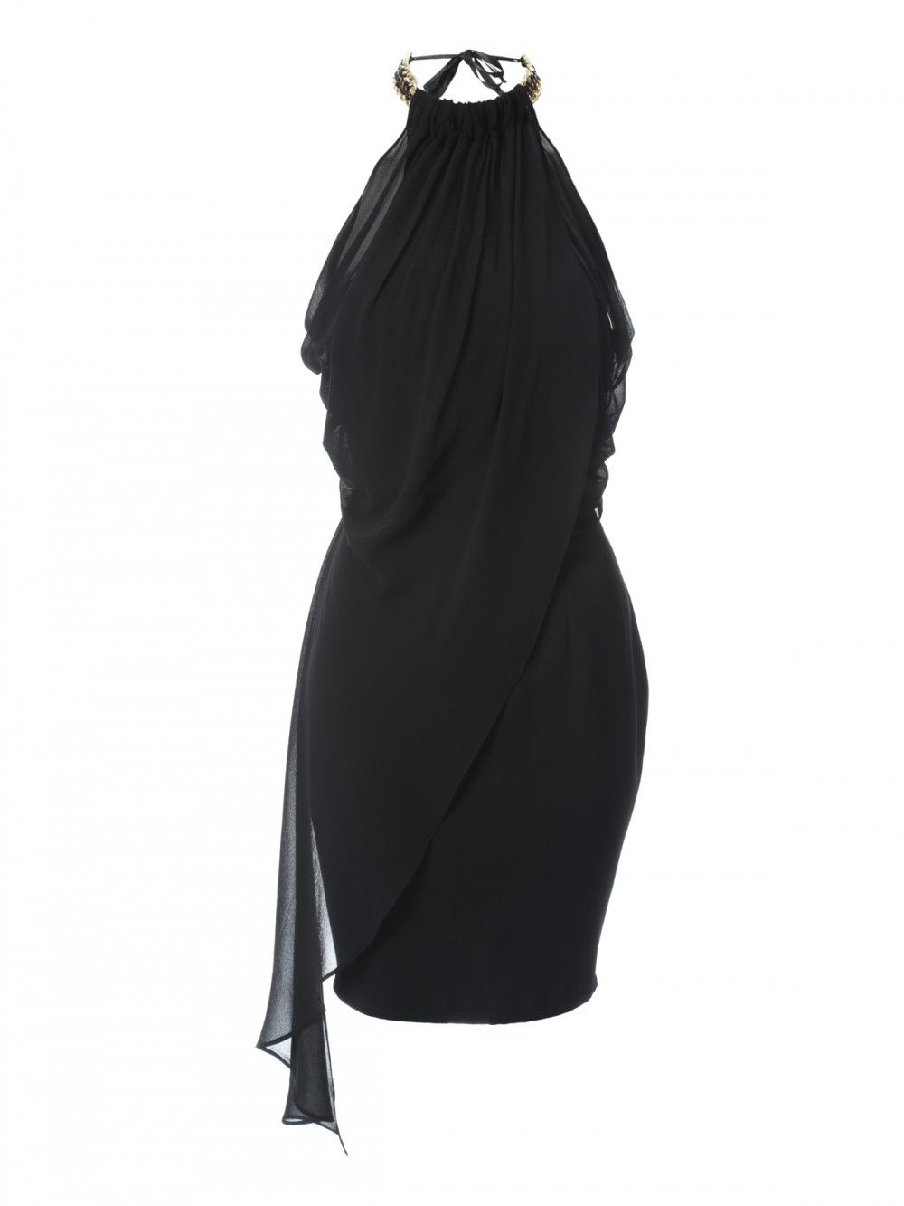 Get a fierce party look this season in this stunning high neck dress