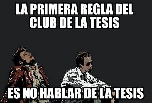 El club de la tesis