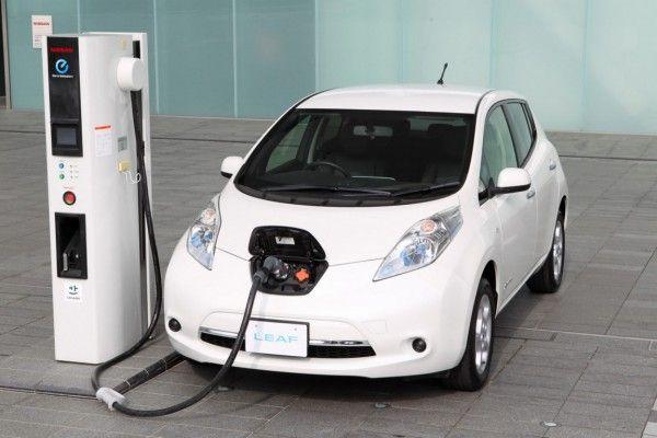 Nissan 2016 Leaf New Hybrid Car Having Diffe Mileage