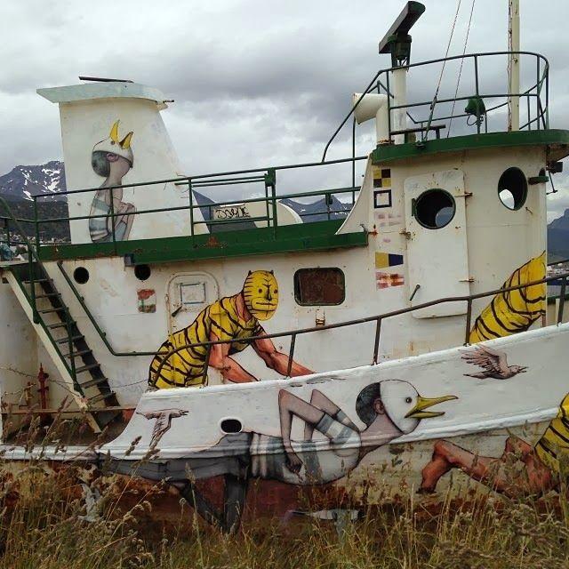 JAZ & Seth Paint A Boat