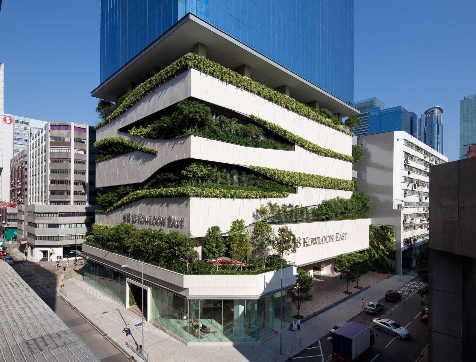 Beautiful 18 Kowloon East, Hong Kong | Aedas Architecture Idea