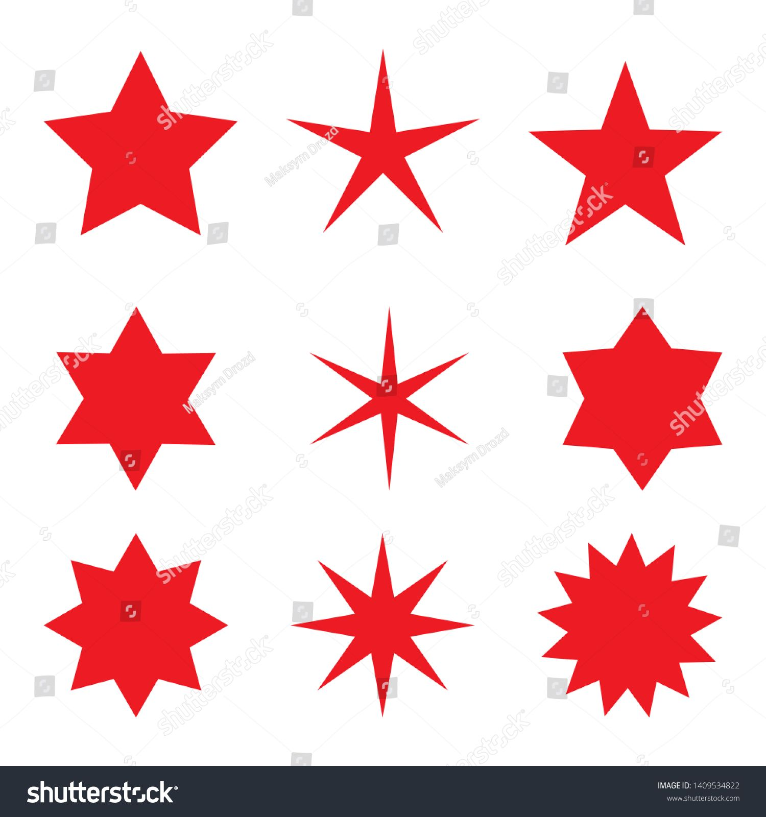 Collection Of Trendy Retro Stars Shapes Sunburst Design Elements Set Bursting Rays Clip Art Red Sparkles Best For Sale Sticker Price Label Quality S En 2020 Madera