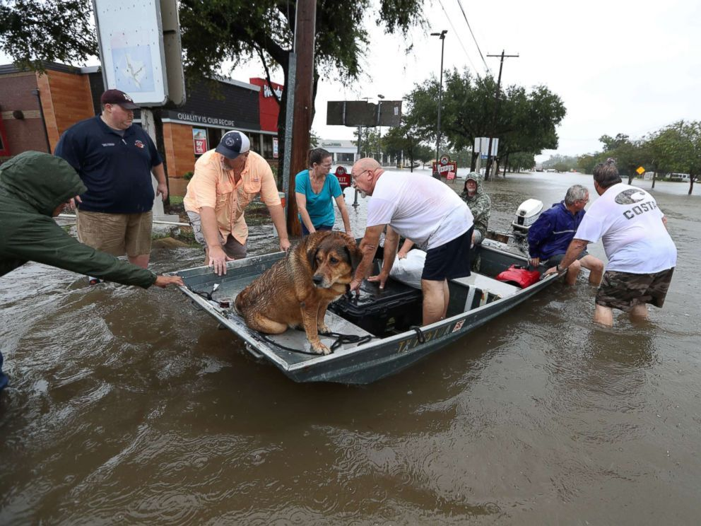 Photo Neighbors Are Using Their Personal Boats To Rescue Flooded Friendswood Residents Aug 27 2017 In Friendswood Texas Hurricane Texas Storm Harvey