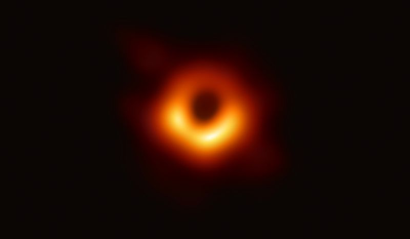 Astronomers Reveal First Photo Of An Actual Black Hole Black