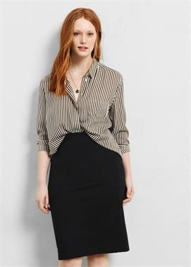 Plus Size High-waist pencil skirt | Look | Pinterest