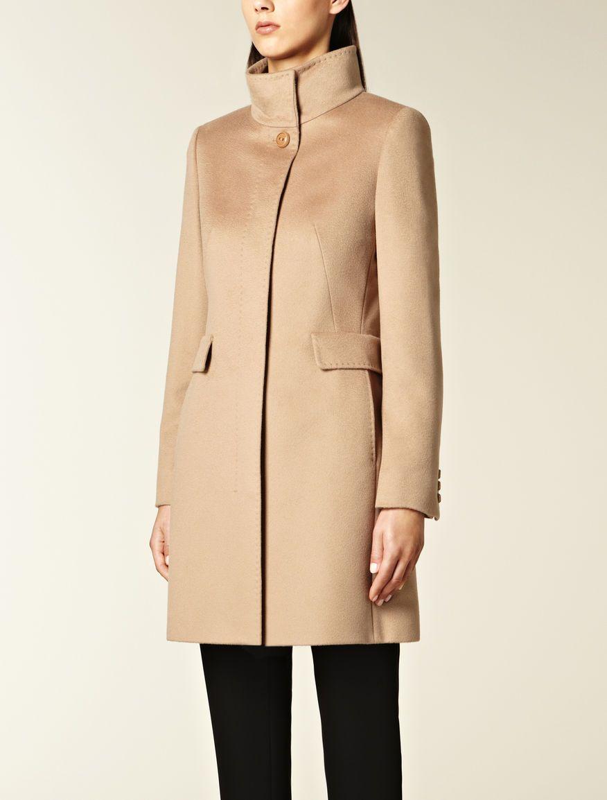 Pure wool coat, camel - Max Mara | My Style | Pinterest | Max mara ...
