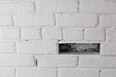 How To Take White Paint Off Red Brick Red Brick Fireplaces