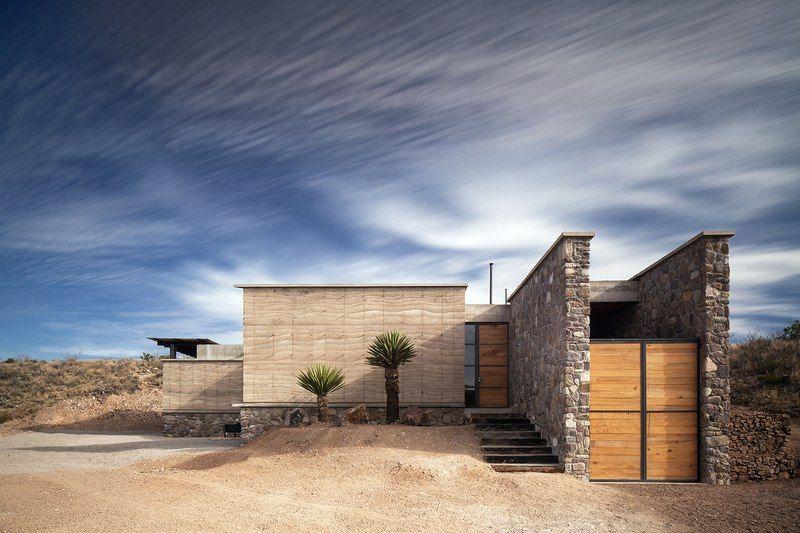 Superbe maison contemporaine en pierre à lu0027architecture vernaculaire