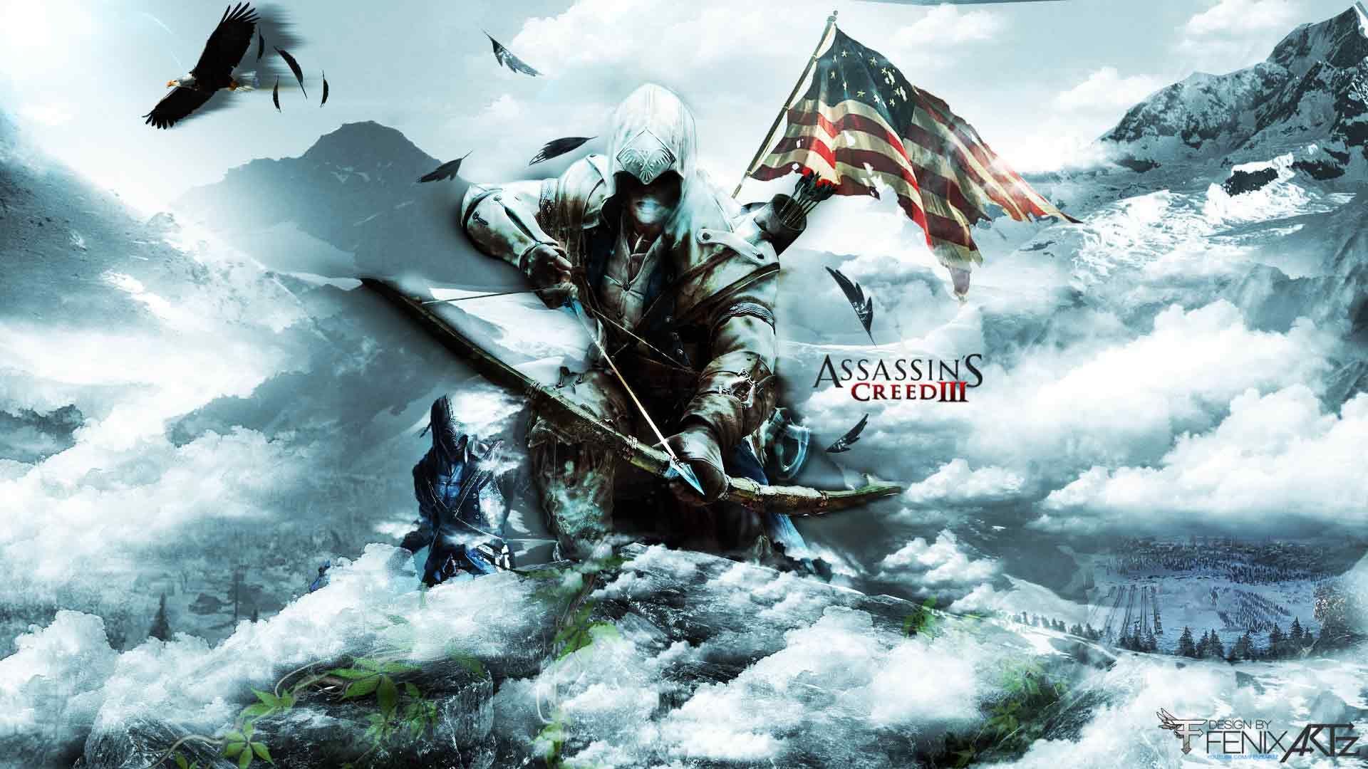 The Assassin S Wallpaper Assassin S Creed 3 Assassins Creed 3 Assassin S Creed Assassin S Creed Wallpaper