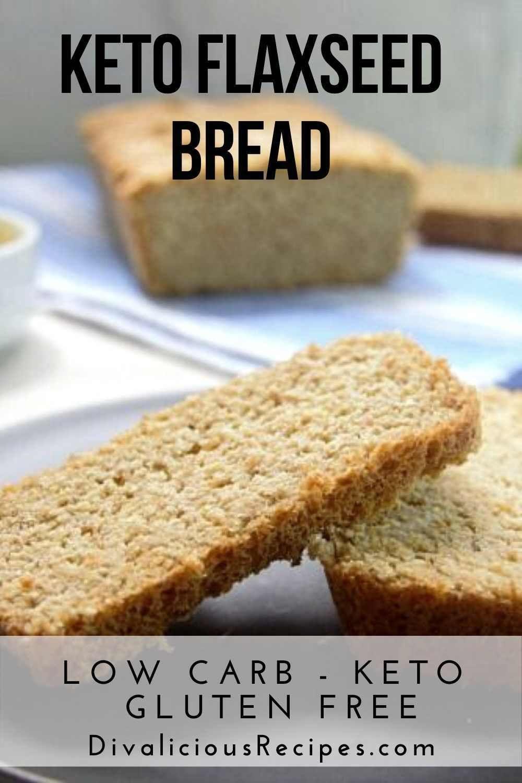 Keto Flaxseed Bread Flaxseed Bread Best Nutrition Food Food