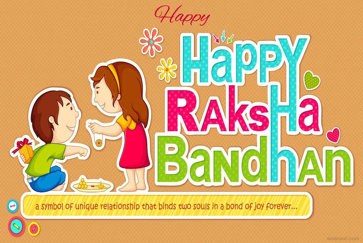 40 Beautiful Raksha Bandhan Greetings Cards And Wallpapers Happy