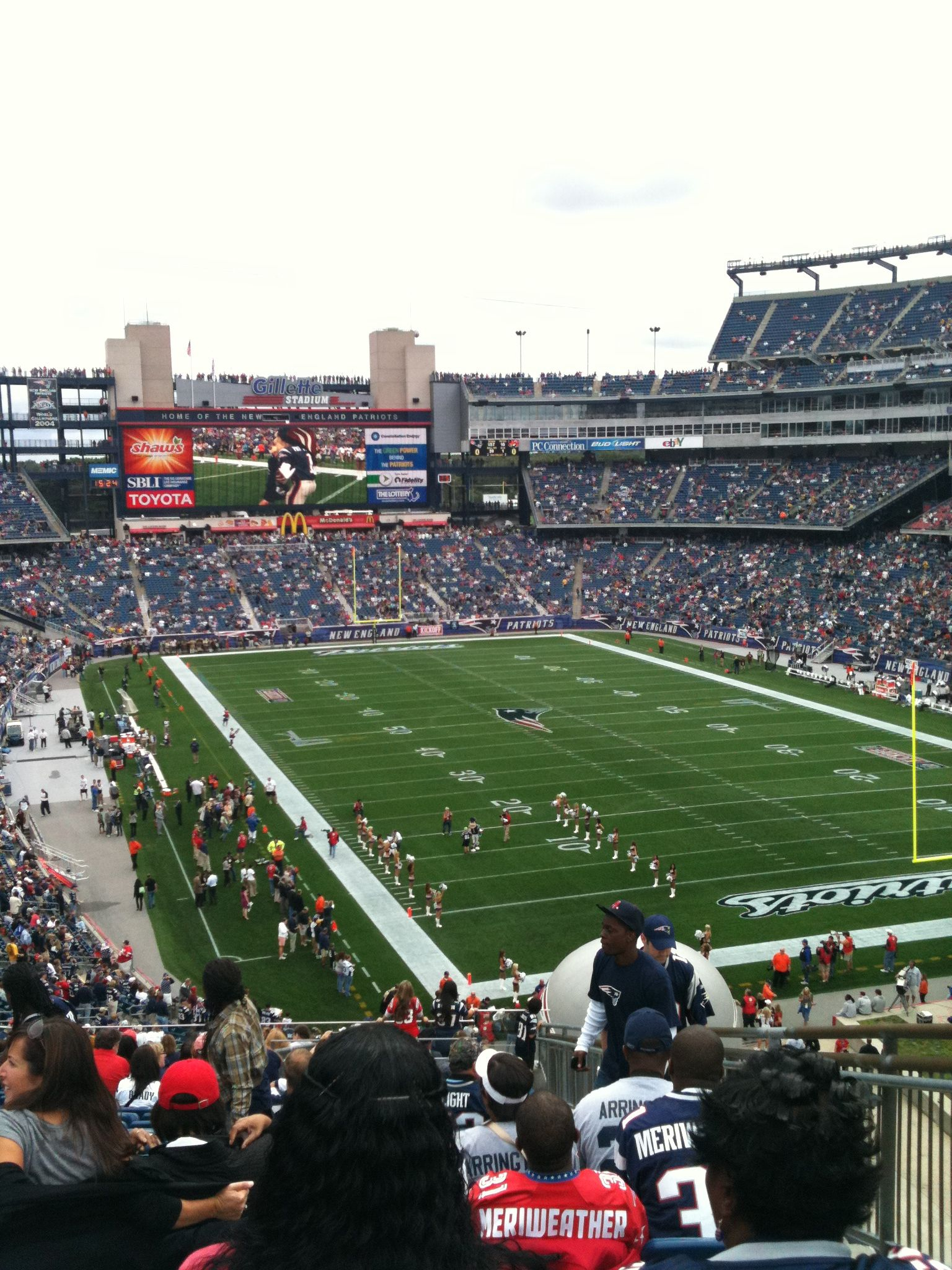Gillette Stadium With Images American Sports New England Patriots Gillette Stadium
