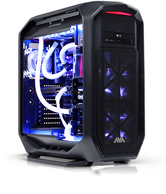 One Of A Kind Liquid Cooled Gaming Pc 2 900 Down From 4 400 Msrp Only One Available Custom Computer Custom Pc Gaming Computer Setup