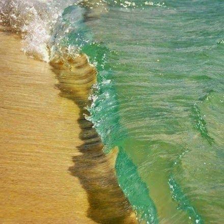 美國  塞班島  水晶般的海浪
