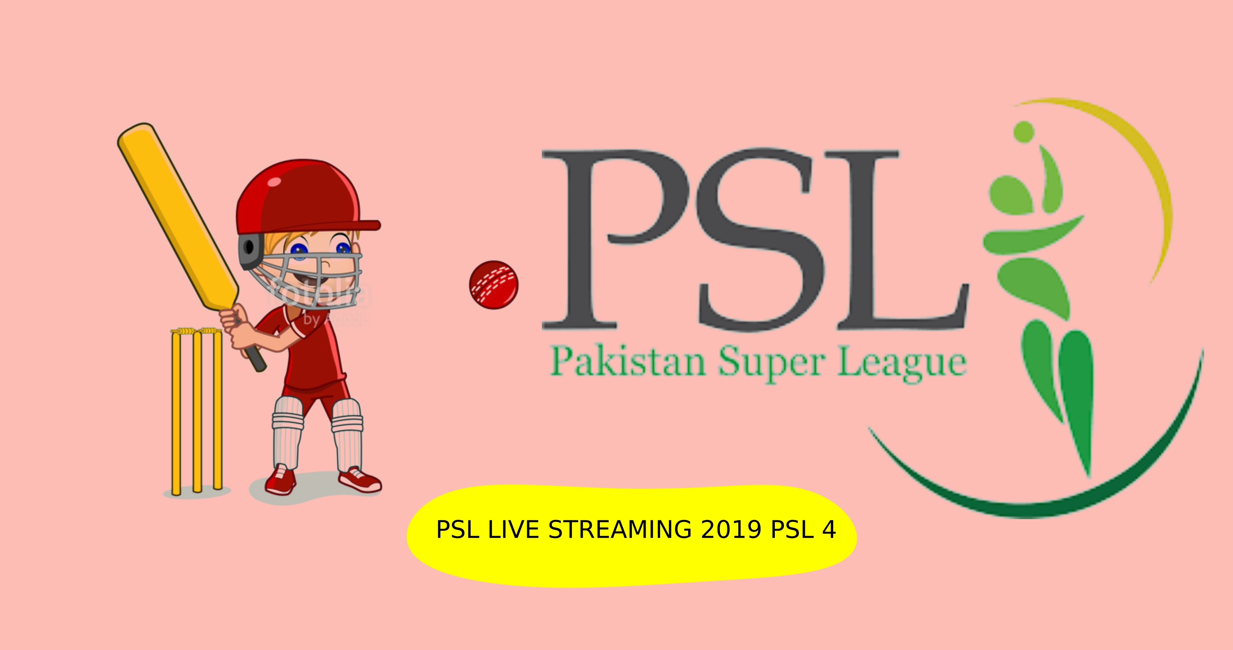 Here given link where all psl fans can watch all matches